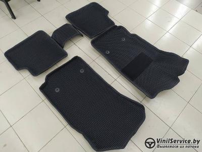 Изготовление эва ковров 3D