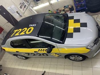 Брендирование такси 7220