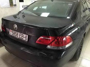 Антигравийная защита и полировка всей оптики BMW 7