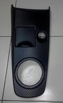 Оклейка детали интерьера Mitsubishi