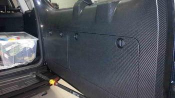 Оклейка задней части багажника TOYOTA PRADO J150