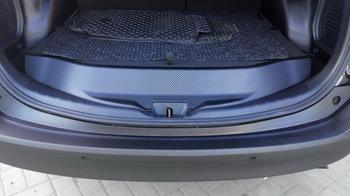 Оклейка багажной части TOYOTA RAV4 в черный 3D карбон NIPPON.