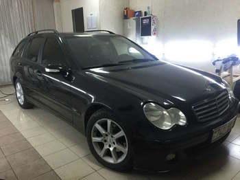 Съемная тонировка  Mercedes Benz C220