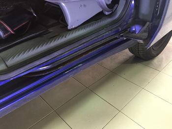 Антигравийная защита нижних дверных проемов Peugeot 806
