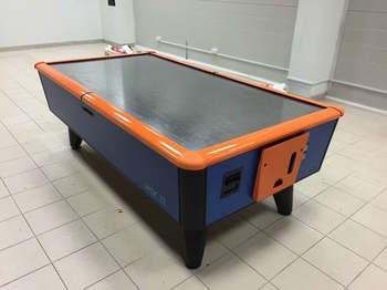Оклейка стола для игры в аэрохоккей