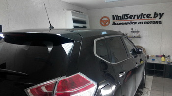 Съемная 25% тонировка 5 окон  Nissan Xtrail New