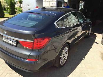 Снятие тонировки в BMW GT 5