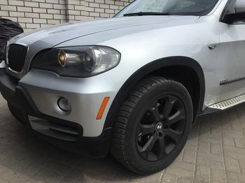 Антигравийная защита передних крыльев BMW X5