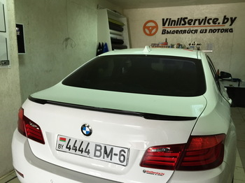 Съемная 25% тонировка задней полусферы BMW 5