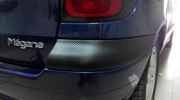 Частичная оклейка бампера Renault Megane Scenic