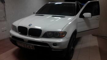 Съемная 35% тонировка передних стекол BMW X5