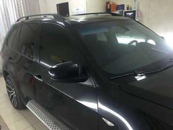 Съемная 25% тонировка передних окон  BMW X5 e70