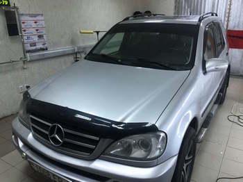 Тонировка на лобовое стекло, полоса 25см  Mercedes Benz ML