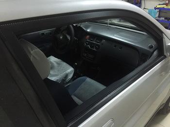 Оклейка элементов кузова и салона HONDA HRV