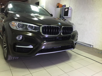 Антигравийная защита BMW X6