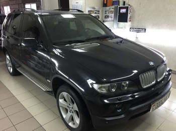Тонировка съемная 25% передних окон BMW X5 e53