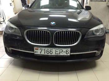 Бронировка и полировка фар и ПТФ  BMW 7