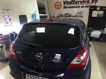 Съемная 5% тонировка заднего стекла  Opel Corsa