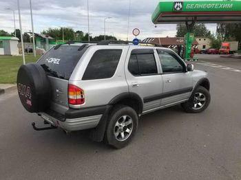 Съемная 25% и 5% тонировка 5 окон. Opel Frontera