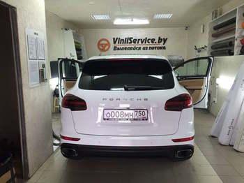 Съемная 5% тонировка UltraVision (пр-во США)  Porsche Cayenne